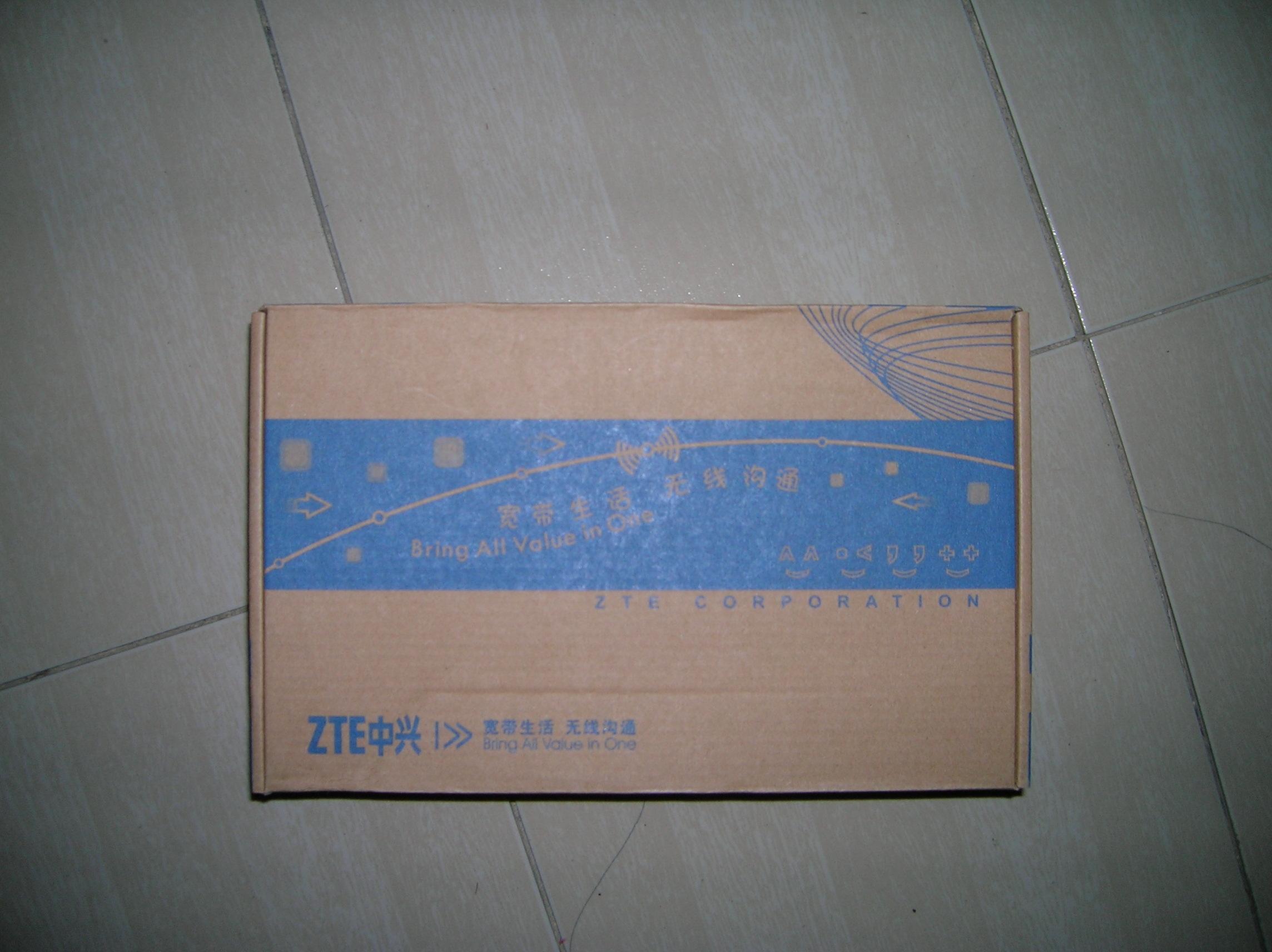 [原创]中兴 ZTE H618B 路由器