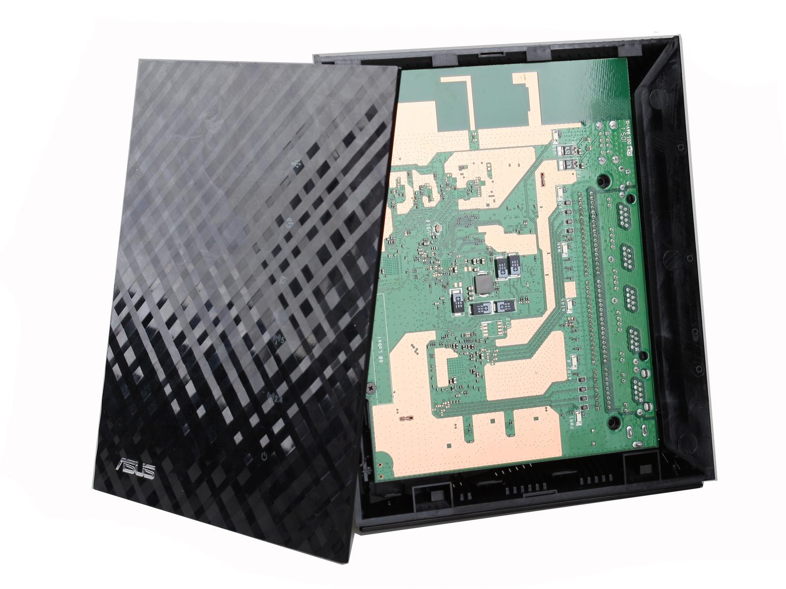 [转帖]华硕 Asus N56U 无线路由器拆解