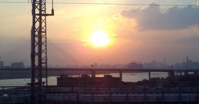 [分享]旅途归来,正遇夕阳美景