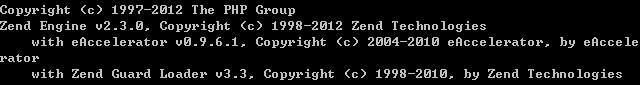 [分享]eAccelerator 0.9.6.1 for php 5.3.17 vc9 nts(非线程安全)/ts(线程安全)