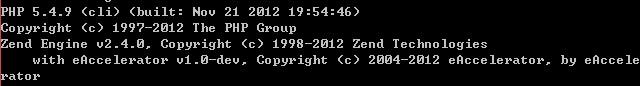 [分享]eAccelerator 1.0 dev for php 5.4.9 vc9 nts(非线程安全)/ts(线程安全)