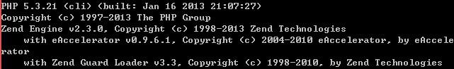 [共享]eAccelerator 0.9.6.1 for php 5.3.21 vc9 nts(非线程安全)/ts(线程安全)