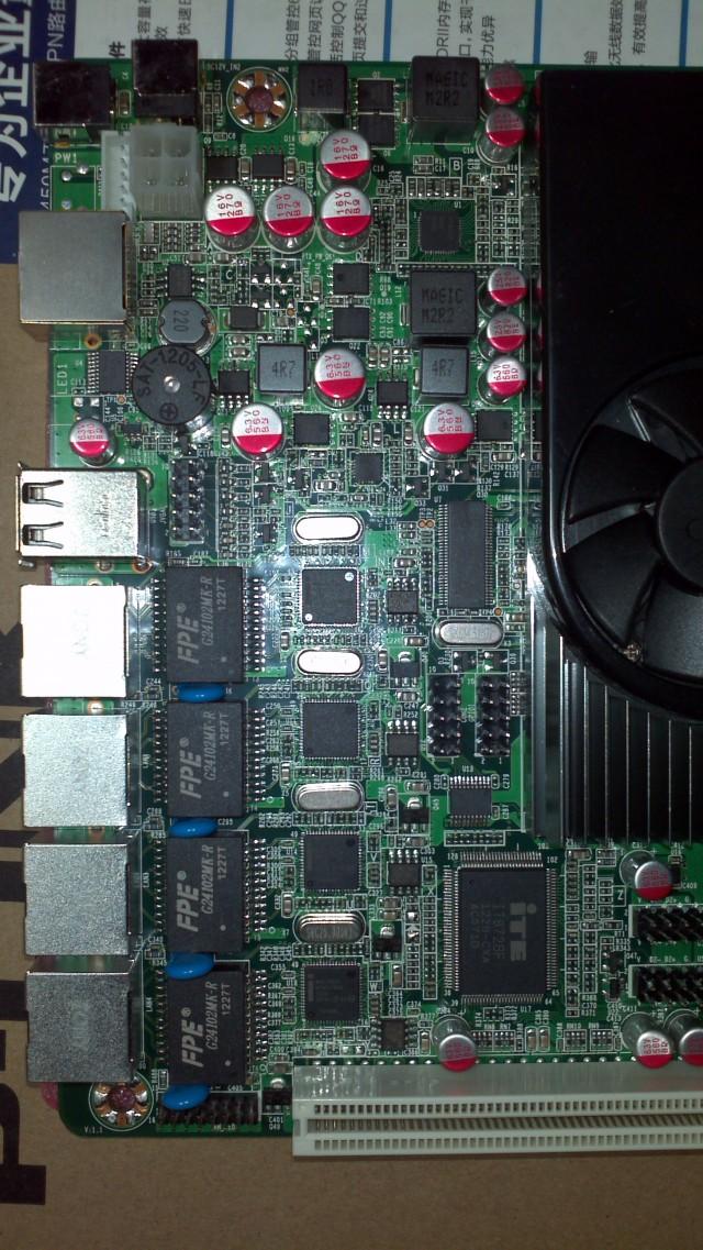 Atom D2550 4口intel 82583v防火墙/软路由主板 图13