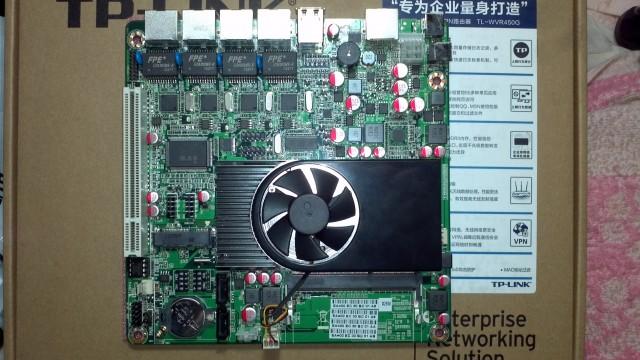 Atom D2550 4口intel 82583v防火墙/软路由主板 图2