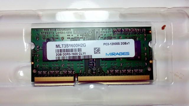 幻影金条 DDR3 2G 1600 图3