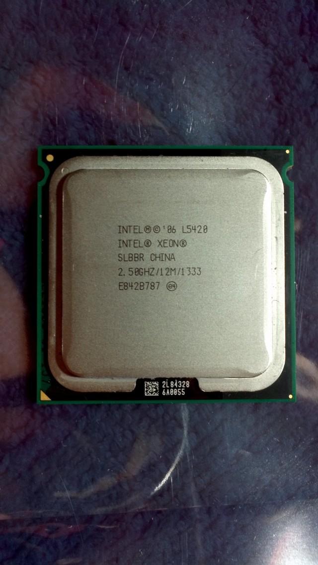 intel xeon L5420 2.5Ghz 12M L2 图1