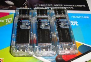 TH58TEG7DDJTA20 +IS903 U盘透明壳细节图 Z1