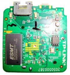 TP-LINK WR802N 802.11N 300M 迷你型无线路由器 拆机图04