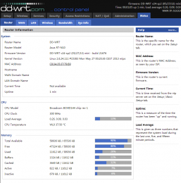 router-status-ddwrt