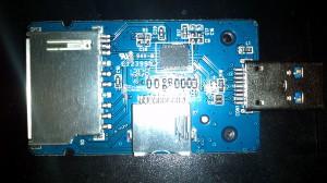 [分享]拆 奥睿科 ORICO 5566C3-WH USB3.0 读卡器