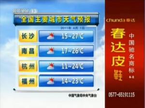[音乐]CCTV13 新闻频道 天气预报 背景音乐