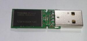 [分享]拆 东芝 隼 16G USB2.0 U盘